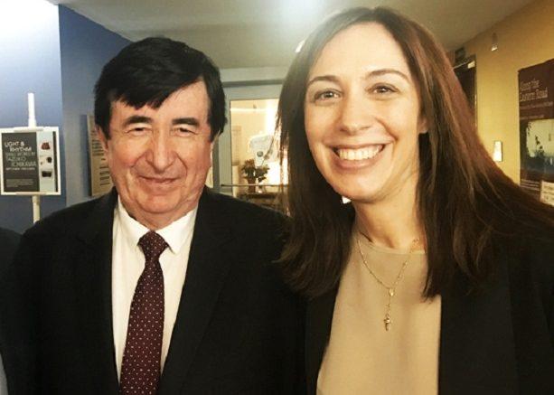 Vidal le pagó más de 5 millones de la provincia a una empresa a nombre del socio de DuranBarba