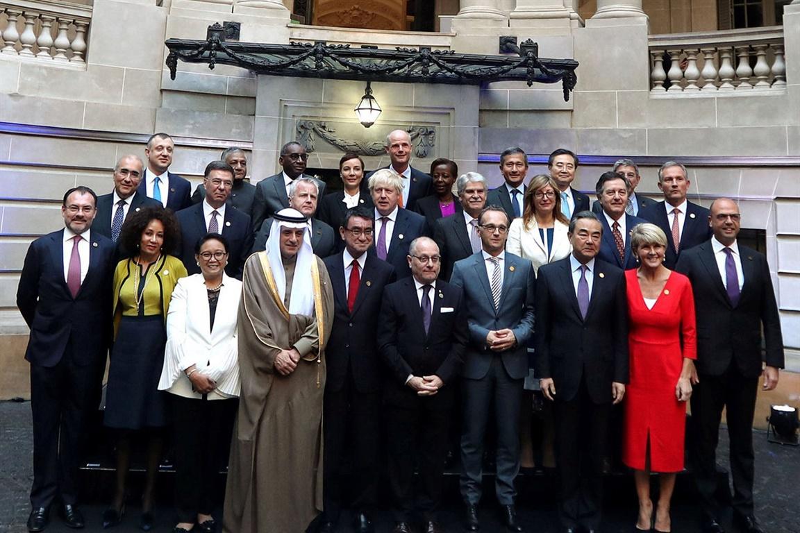 Los cancilleres del G-20 reunidos en Buenos Aires levantan la bandera del multilateralismo