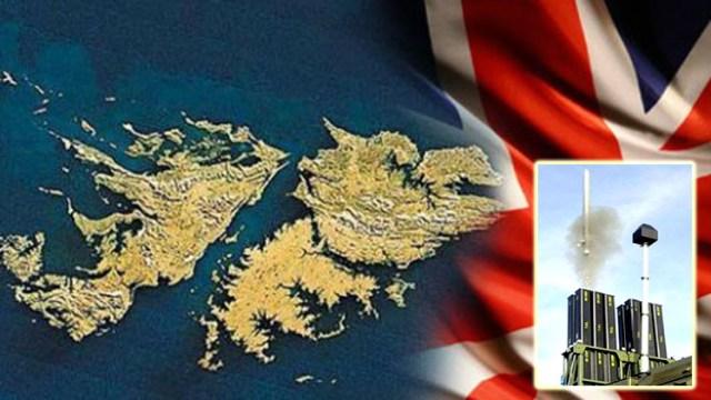 Gran Bretaña instalará un millonario escudo de misiles antiaéreos en nuestras IslasMalvinas