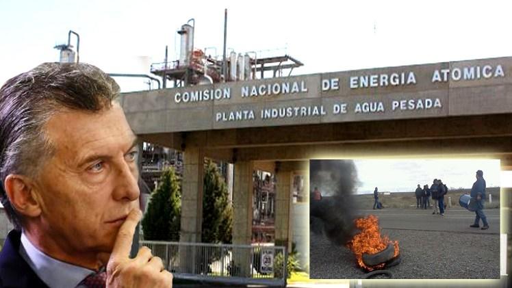 Por acuerdo con el FMI, Macri cancela acuerdos nucleares con China de Atucha III y IV. Quedan 5000 personas sintrabajo